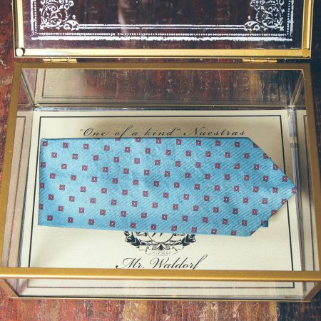 Corbata Jefferson, Colección Morgan, Mr. Waldorf